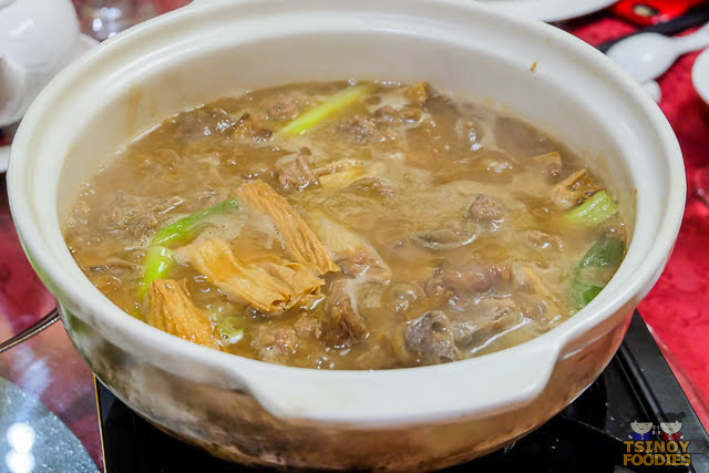 braised lamb in hot pot