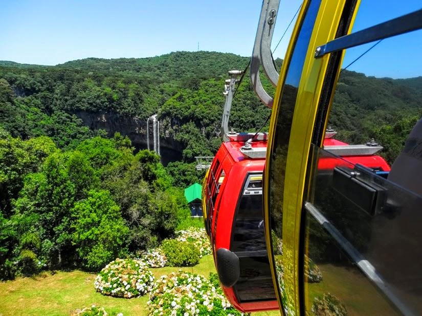 Bondinhos Parques da Serra - Rio Grande do Sul - Diário de Bordo - Canela