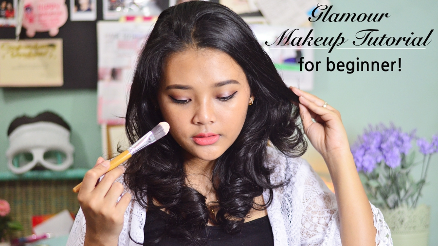 tutorial makeup bagi pemula by Indonesian beauty blogger - Indonesian beauty vlogger
