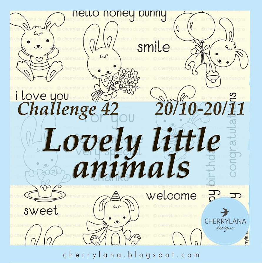 Challenge 42 - Милые зверята / Lovely little animals