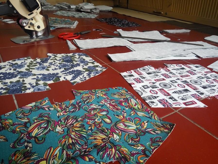 Produksi Tas Jenis Pouch Tote Bag dan Dopkit
