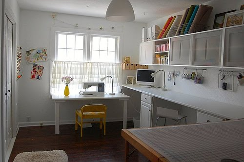Sewing Room Designs: City Chic Country Mouse: Inspiring Sewing Spaces