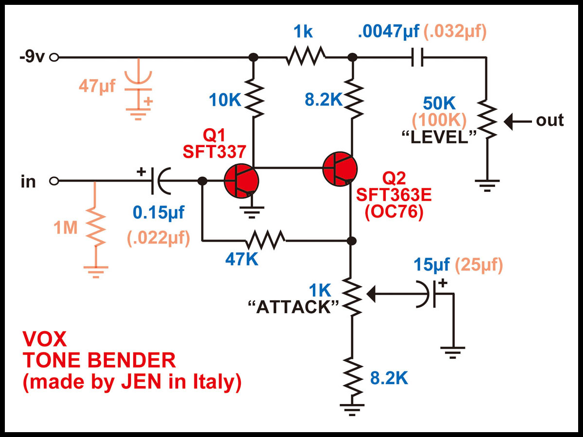 fuzz face wiring diagram peugeot 207 buzz the all about tone bender circuit of mk1 5