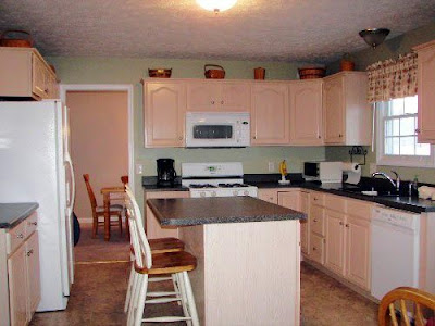 Look At Those Cabinets, What Color Are They Supposed To Be?? Anyone...  Anyone? Bueller.. Bueller?;)