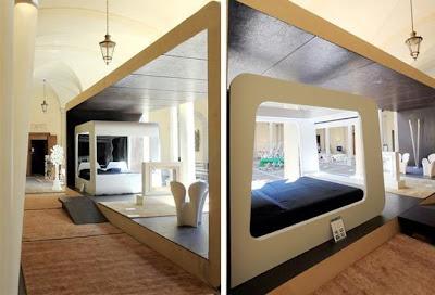 High Tech Bedroom Design Idea