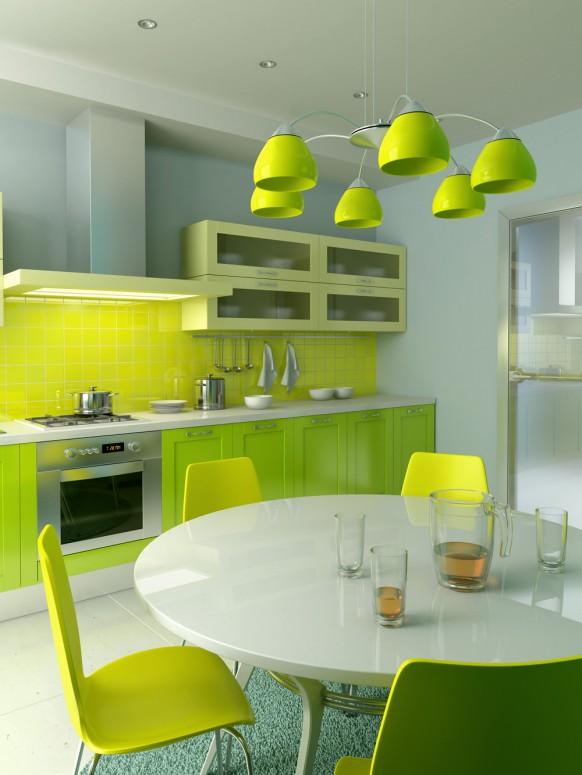 Interior Design Blog 2010 New Elegant Green Classic Kitchens Interior Design