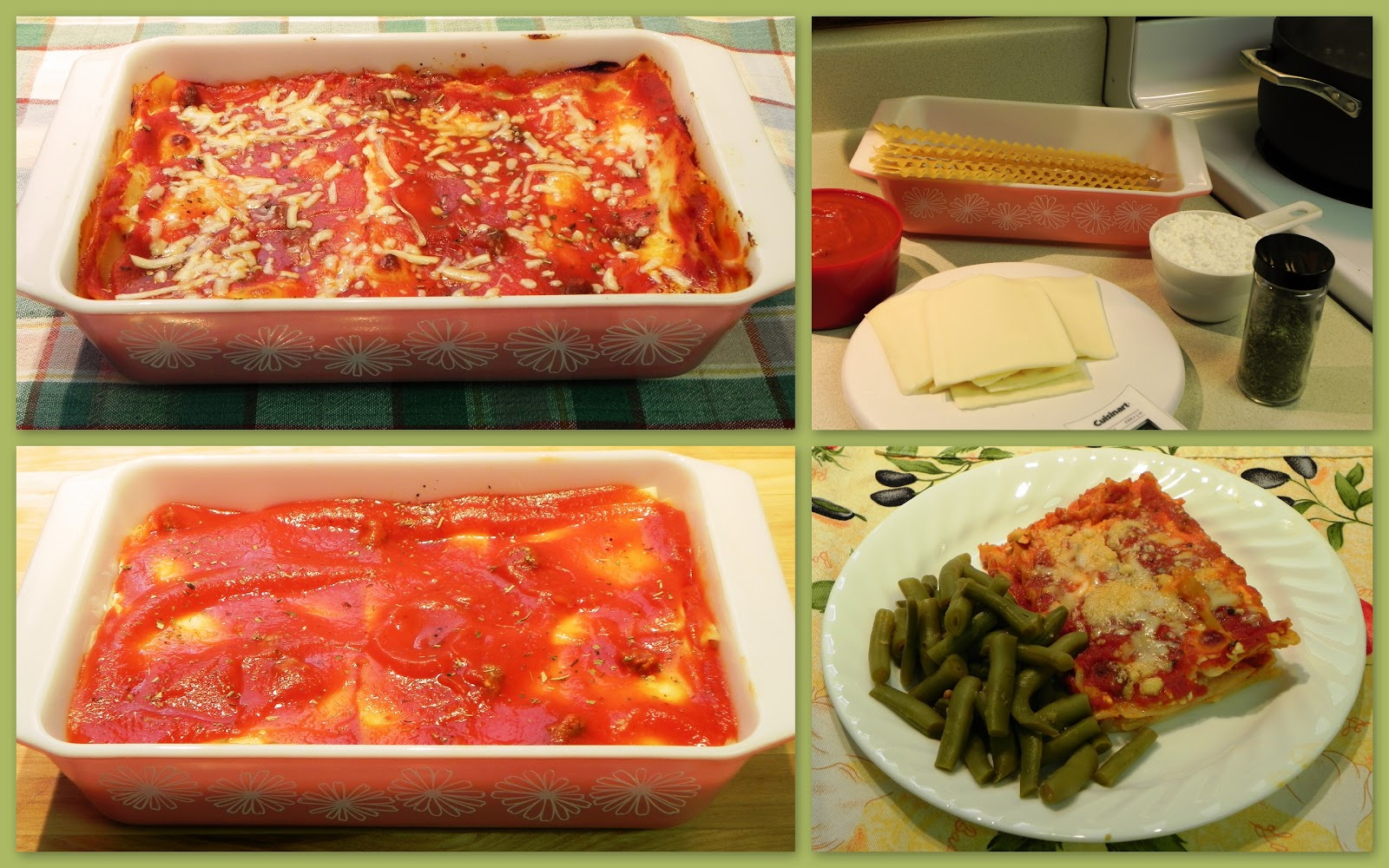 The iowa housewife family favorites lazy day lasagna for Better homes and gardens lasagna
