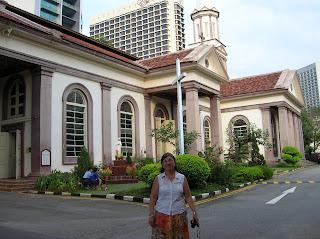 catedral católica de Good Shepherd, Singapur, Singapore, vuelta al mundo, round the world, La vuelta al mundo de Asun y Ricardo