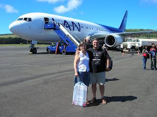 Isla de pascua, Aeropuerto isla pascua, chile, vuelta al mundo, round the world, información viajes, consejos, fotos, guía, diario, excursiones