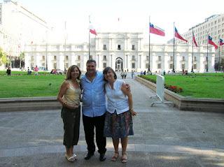 Palacio de la Moneda, Santiago de Chile, Chile, vuelta al mundo, round the world, La vuelta al mundo de Asun y Ricardo