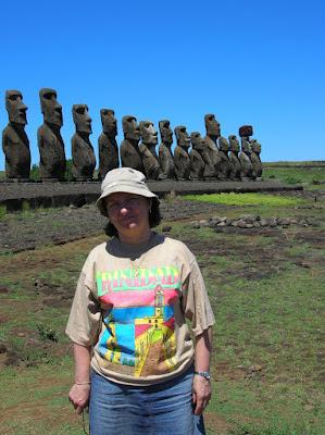 Ahu Tongariki, moais, Isla de Pascua, Easter Island, vuelta al mundo, round the world, La vuelta al mundo de Asun y Ricardo