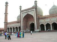 Mezquita de Jama Masjid, nueva delhi, india, vuelta al mundo, round the world, información viajes, consejos, fotos, guía, diario, excursiones