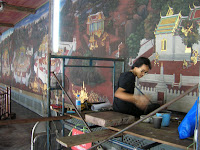 restauracion gran templo real, bangkok, tailandia,vuelta al mundo, round the world, información viajes, consejos, fotos, guía, diario, excursiones