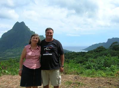 Bahía de Cook, mirador de Belvere, Moorea, Polinesia Francesa, vuelta al mundo, round the world, La vuelta al mundo de Asun y Ricardo