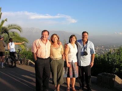 Cerro San Cristóbal, Santiago de Chile, Chile, vuelta al mundo, round the world, La vuelta al mundo de Asun y Ricardo