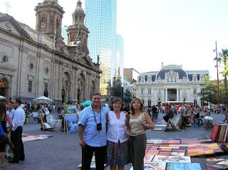 Plaza de Armas, Santiago de Chile, Chile, vuelta al mundo, round the world, La vuelta al mundo de Asun y Ricardo