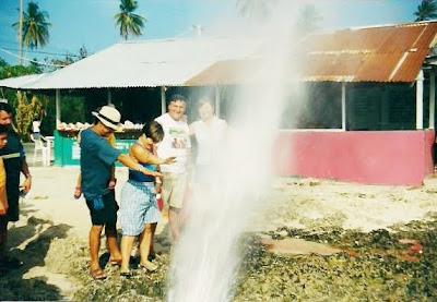 hoyo soplador, isla de san andres, colombia, caribe, Blow Hole, San Andres Island, Colombia, Caribbean,  vuelta al mundo, asun y ricardo, round the world