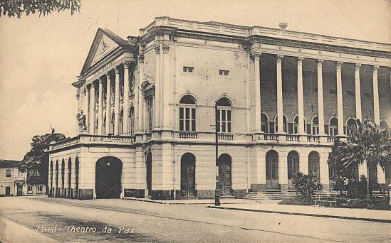 Resultado de imagem para Fundação do Teatro de Paz Pará