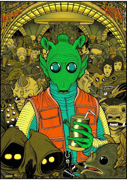 Art Of Florian Bertmer Star Wars Print