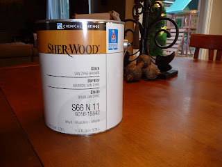 My Mom And I Did A Little Research Recently Purchased Sherwood From Sherwin Williams It Is Glaze That You Can Put Over Sealed Surfaces