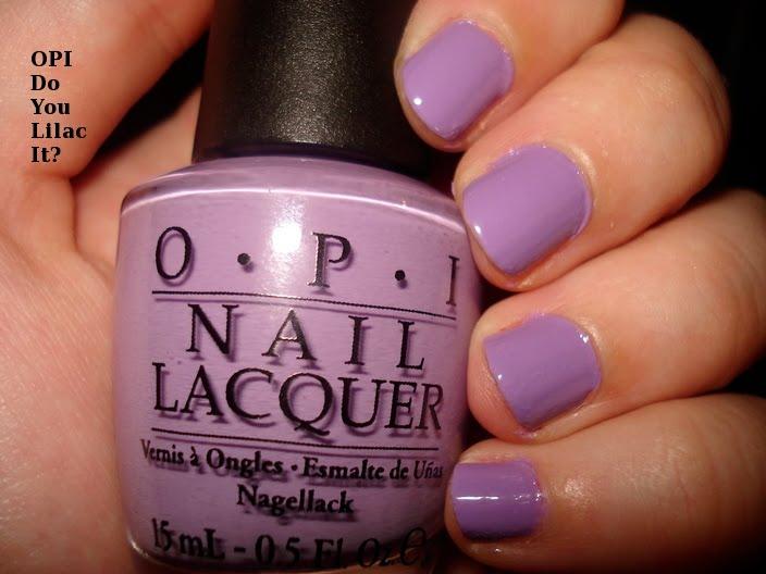 Nail Envy: OPI Do You Lilac It?  Nail Envy: OPI ...