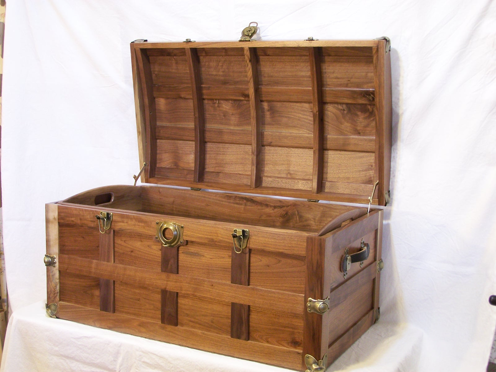 In The Shop Notes Steamer Trunk  DONE