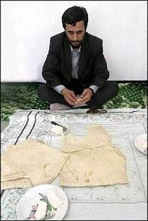 kesederhanaan Ahmadinejad David