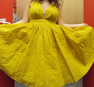 Jean Paul Gaultier for Target® Halter Dress - Spanish Mustard  59.99 4adc582cd