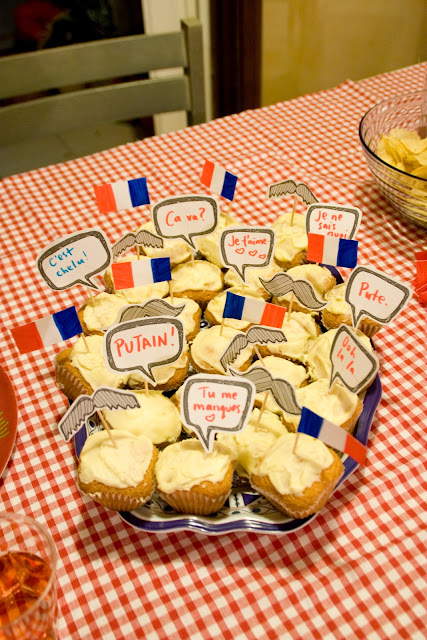 Au Revoir France'  A French Themed Party