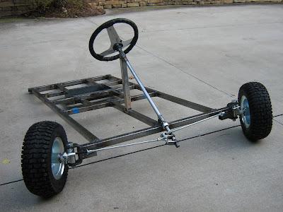 Nackman Electric Go-Kart Project: 2008