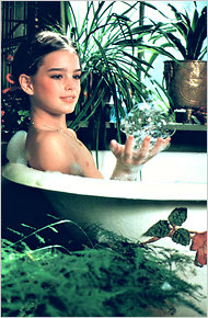 Nude Photograph of Brooke Shields by Garry Gross