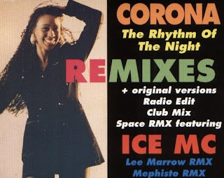 90s hits and mixes: Corona - The Rhythm Of The Night (remixes)
