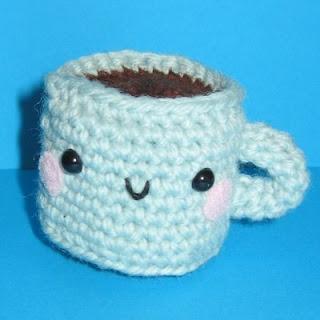 Ana Paula's Amigurumi Patterns & Random Cuteness: Little cafe con