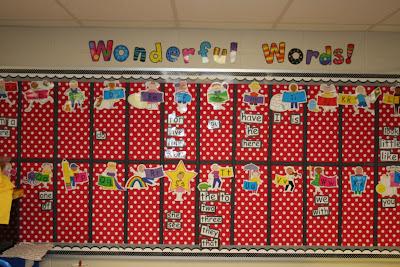 word+wall+edited - Words Kindergarten Should Know
