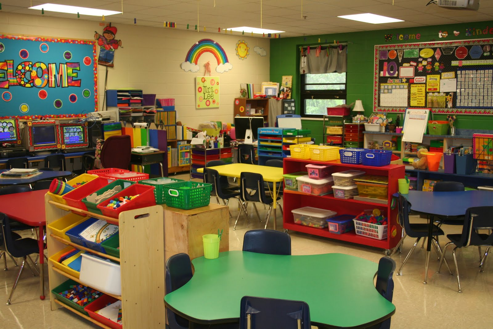 Mrs Lees Kindergarten My Classroom