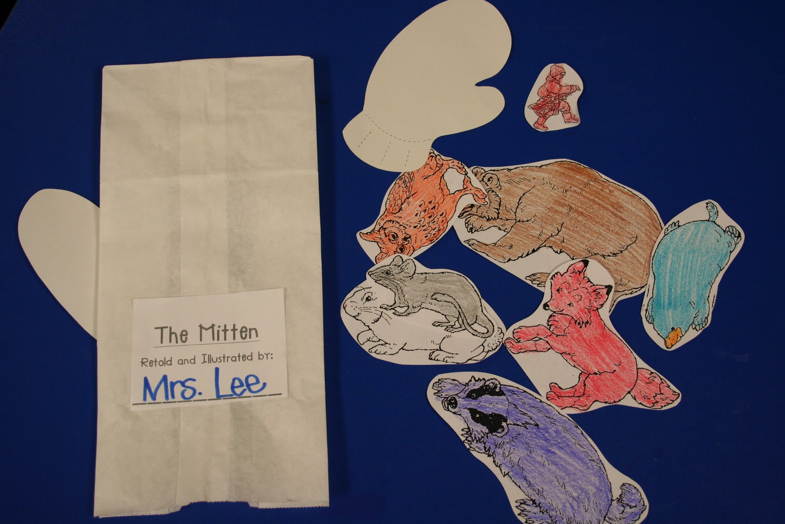 Mrs Lee S Kindergarten Mitten Activities