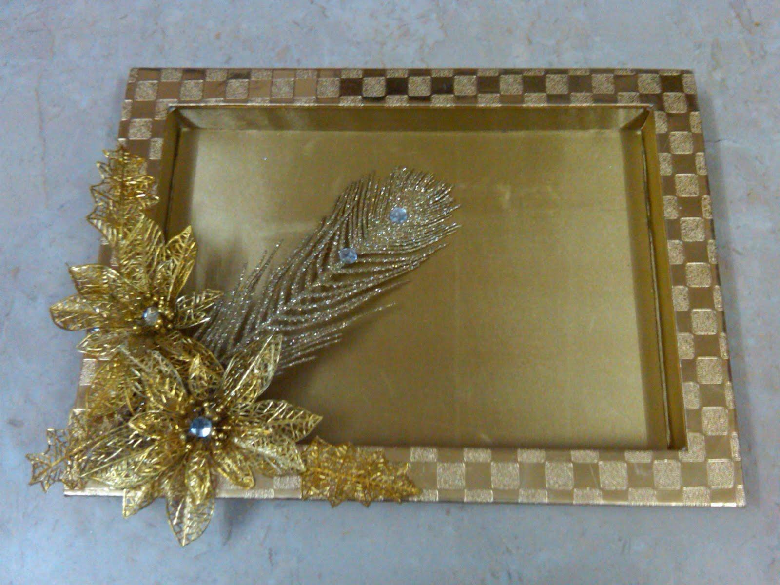 Trousseau Packing Tray Decorative Wedding Indian Decoration Home