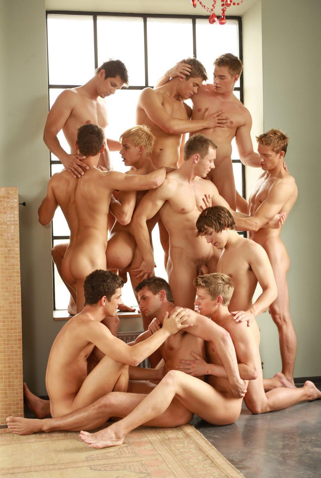 Men gay orgy fuck