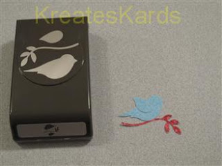 Kreateskards Stampin Up New Paper Punch Design