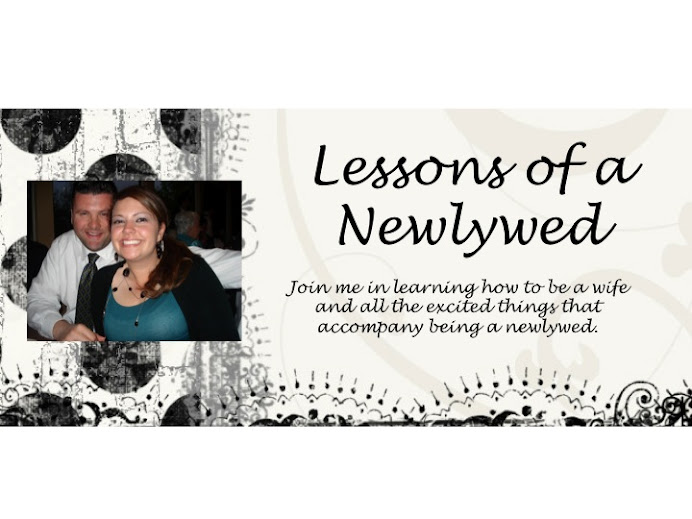 Lessons of a Newlywed