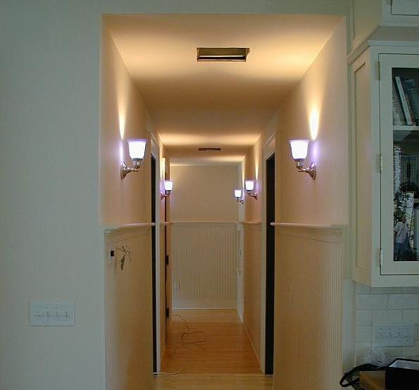 HOUSE CONSTRUCTION IN INDIA: LIGHTING TYPES   WALL LIGHTS on Height Of Bathroom Sconce Lights id=78149