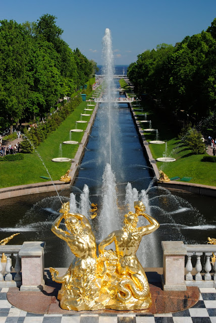 A Tale Of Two Cities Russian Palaces