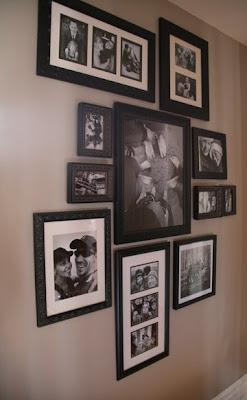 tchoubi petites histoires cr atives un mur de cadres. Black Bedroom Furniture Sets. Home Design Ideas
