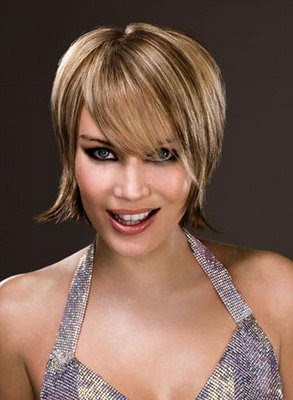 woman and men hair style girls short layered hairstyles