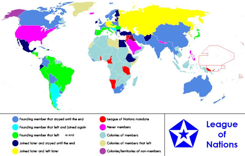 Schmidt's Model UN: What was the League of Nations?