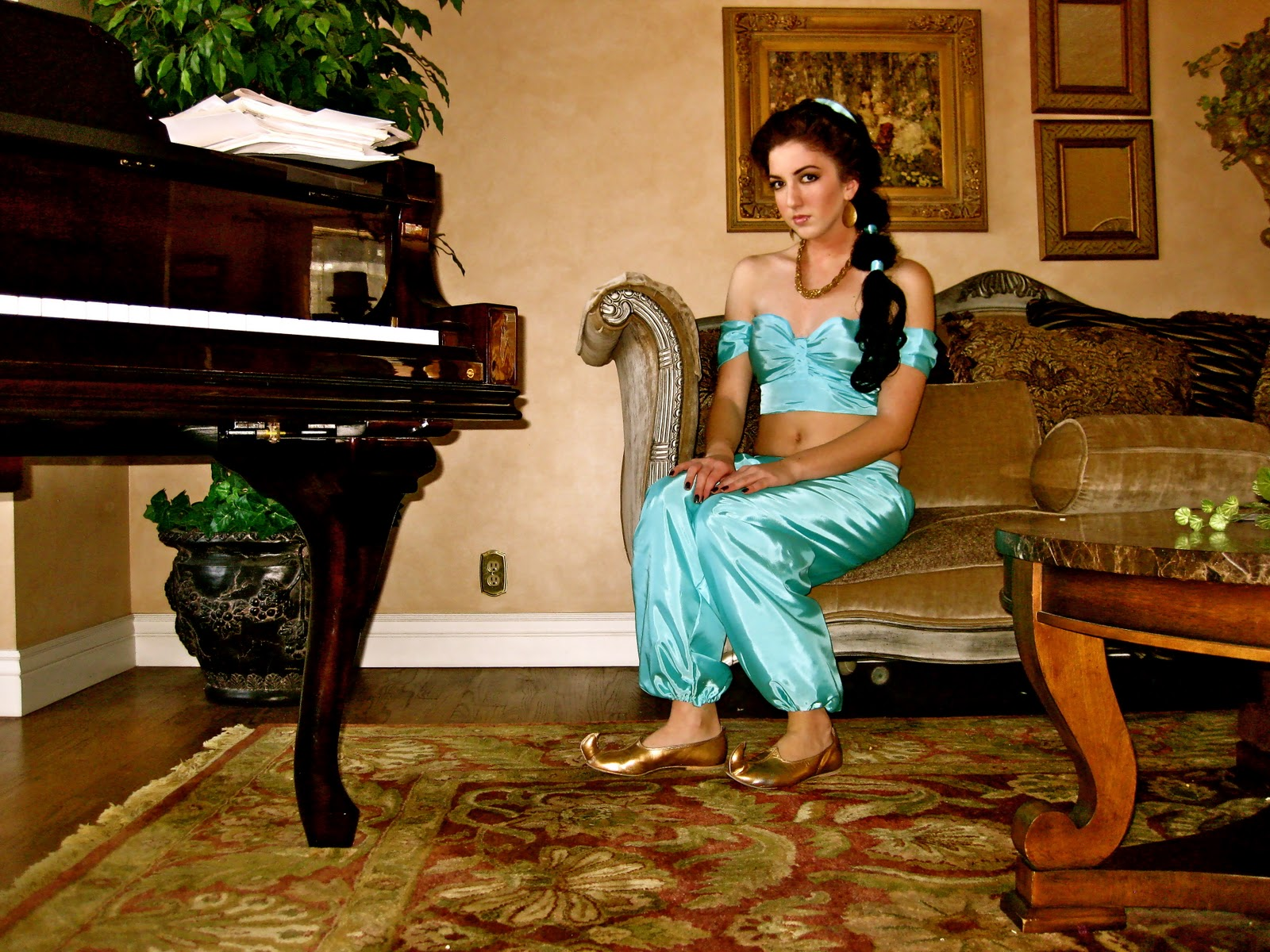 Jaymay Life Lessons My Princess Jasmine Costume