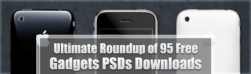 Ultimate Roundup of 95 Free Gadgets PSDs Downloads by Ahmad Hania