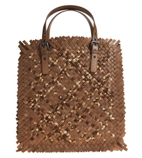 As Seen On the Runway: Bottega Veneta's Sfrangiato Tote