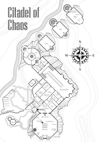Unnatural History: Fighting Fantasy maps