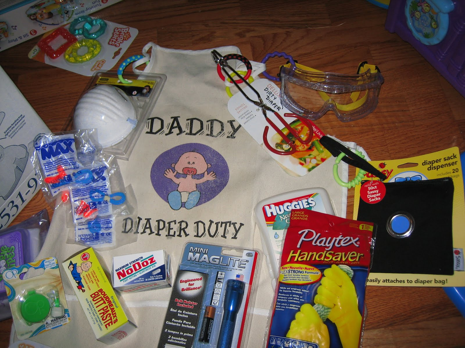 Keeping Up With The Girls Daddy Diaper Duty Apron